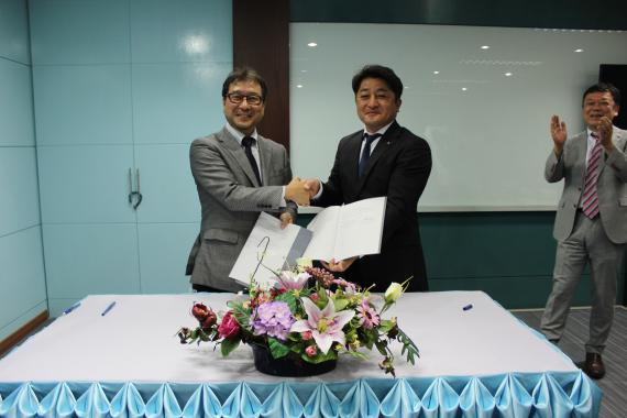 Sign Contract between Siamdent with Tokyo Giken